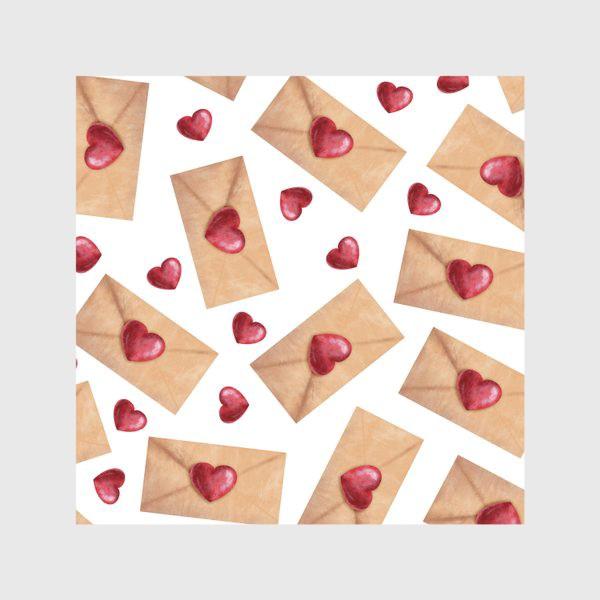 Скатерть «паттерн любовные письма»