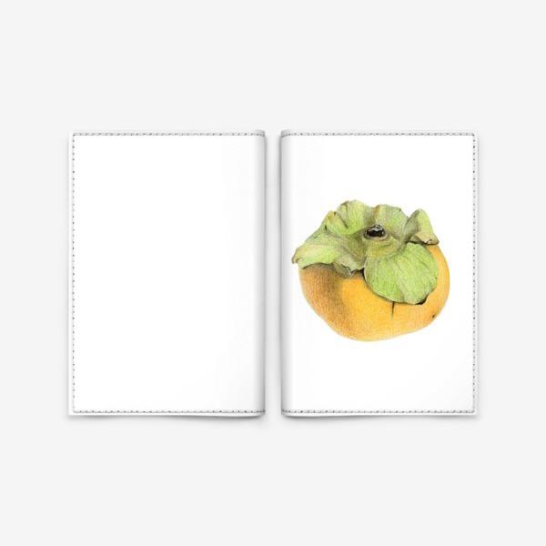 Обложка для паспорта «Хурма»