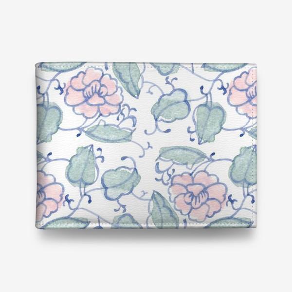 Кошелек «Цветочный винтажный орнамент»