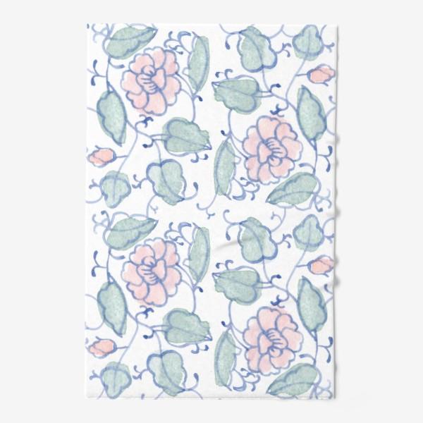 Полотенце «Цветочный винтажный орнамент»
