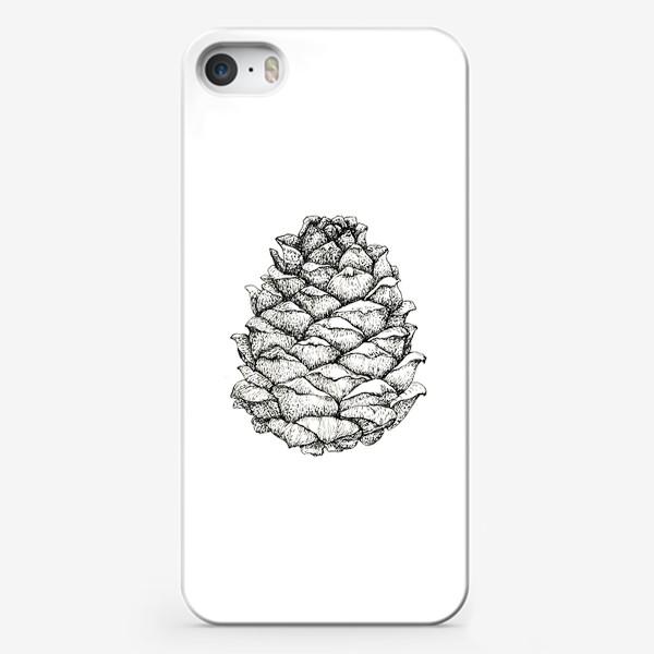 Чехол iPhone «Кедровая шишка»