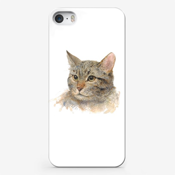 Чехол iPhone «Портрет кота»