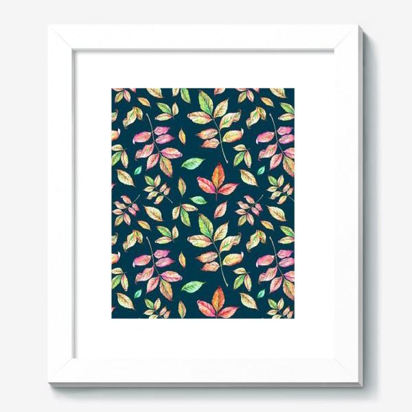 Картина «Акварельные осенние листья 4»