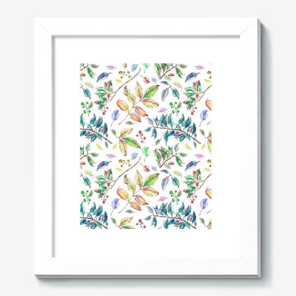 Картина «Акварельные осенние листья 2»