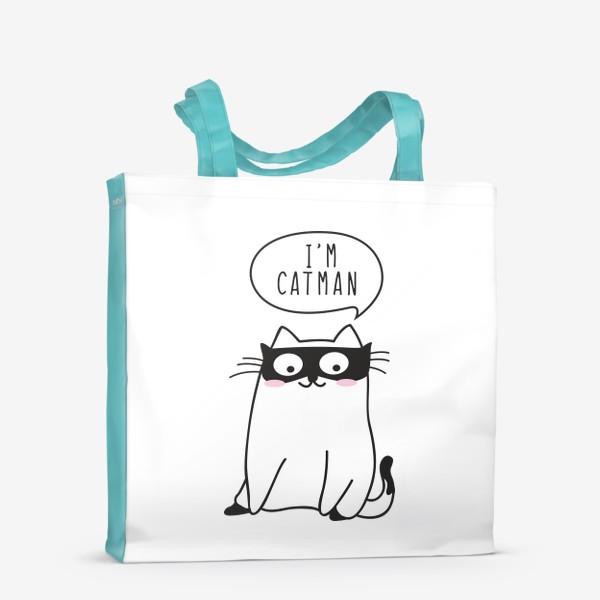 "Сумка-шоппер «I""m CATMAN»"