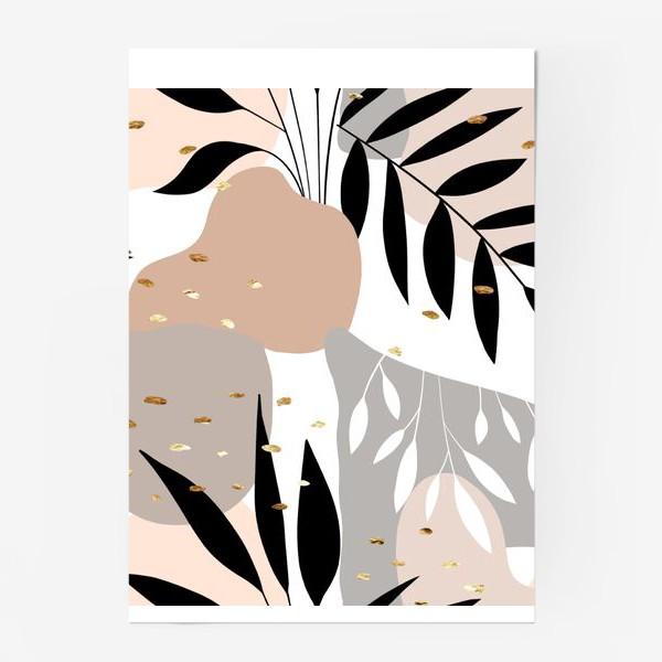 Постер «Пастельный паттерн»