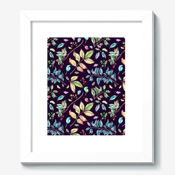 Картина «Акварельные осенние листья 3»