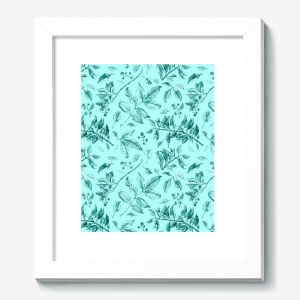 Картина «Акварельные осенние листья 7»