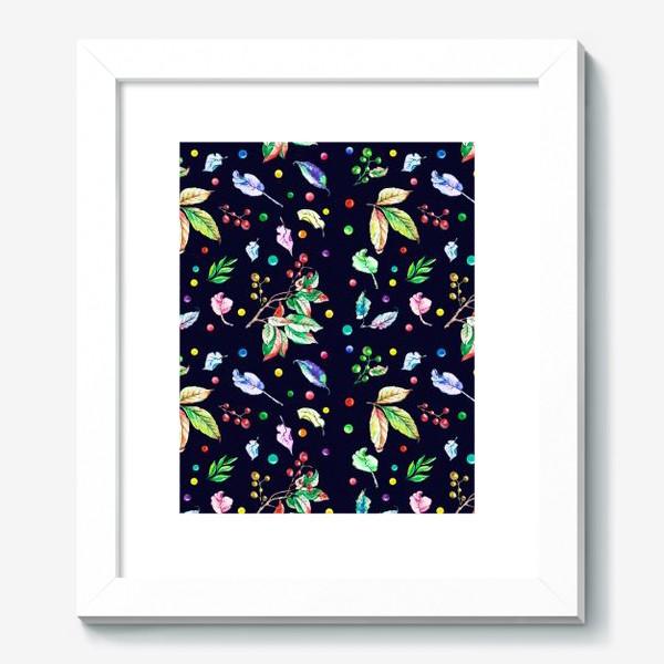 Картина «Акварельные осенние листья 9»
