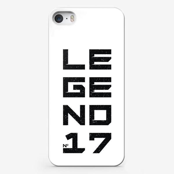 Чехол iPhone «Легенда №17»