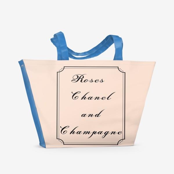 Пляжная сумка «Lady rule»