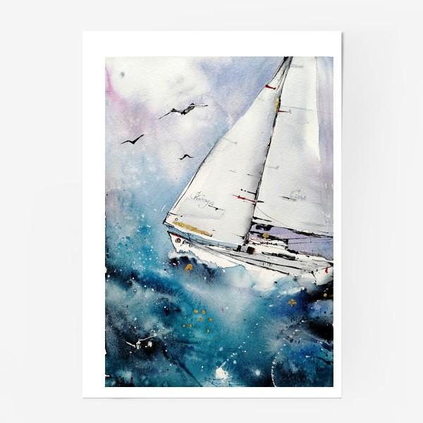 Постер «Парусник»
