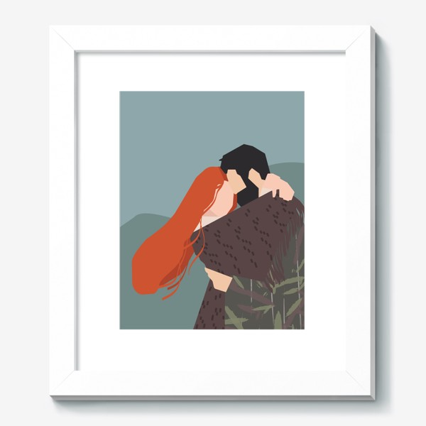 Картина «влюбленные»