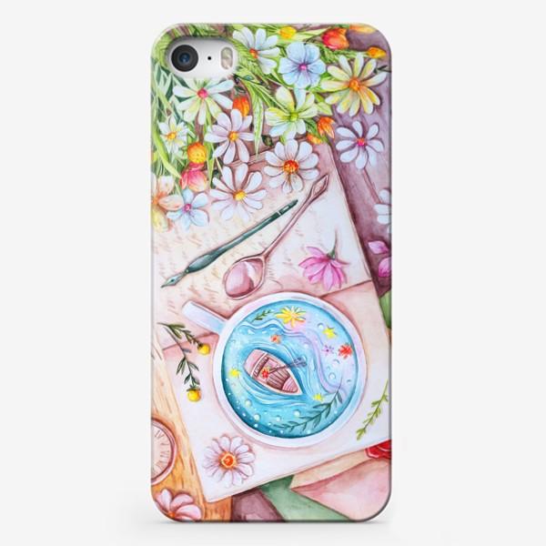 Чехол iPhone «Весенние мечты. Акварель»