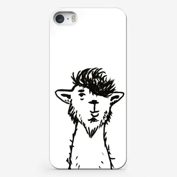 Чехол iPhone «лама. альпака»