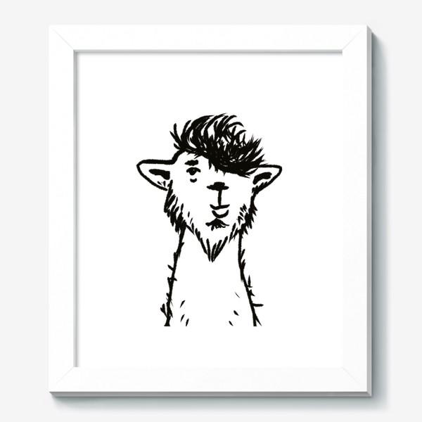 Картина «лама. альпака»