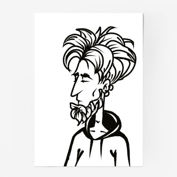 Постер «парень »