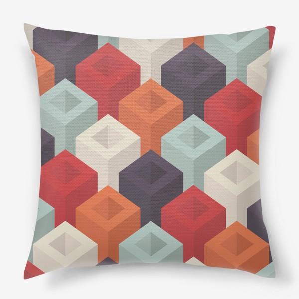Подушка «Геометрический паттерн»