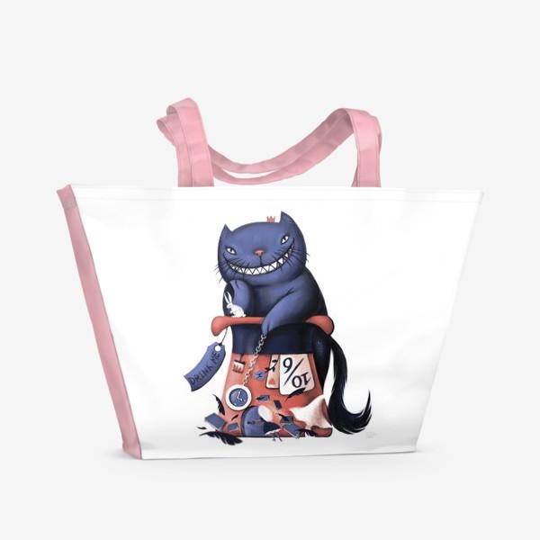 Пляжная сумка «Чешир»