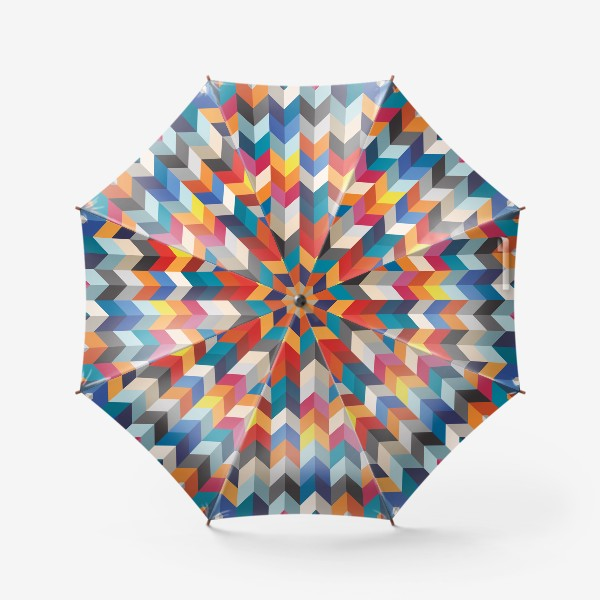 Зонт «Геометрический паттерн»