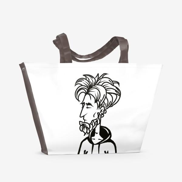 Пляжная сумка «парень »
