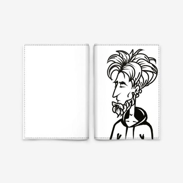 Обложка для паспорта «парень »