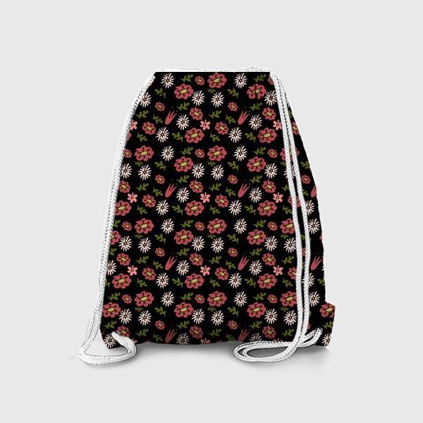 Рюкзак «Паттерн садовые цветы»