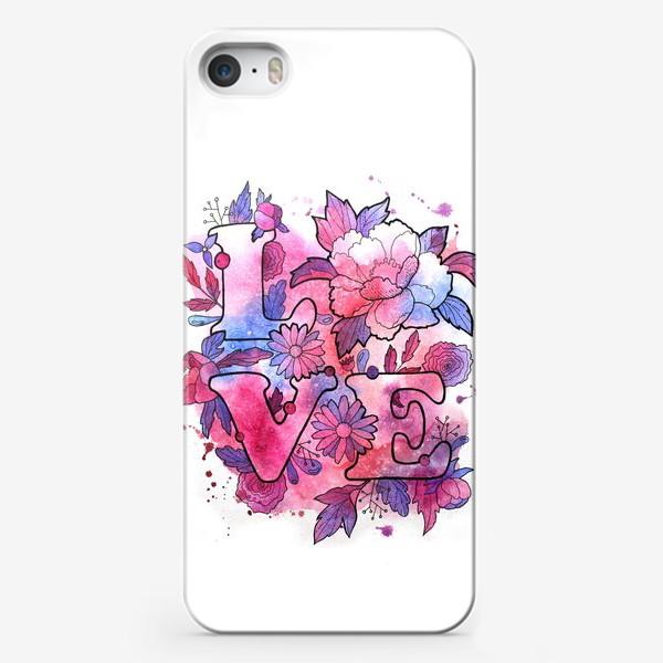 Чехол iPhone «Любовь. Love. День влюбленных»