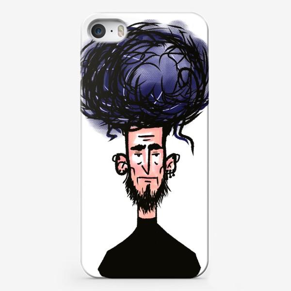 Чехол iPhone «фиолетовый»