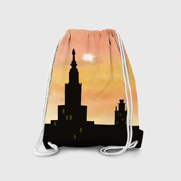 Рюкзак «Восход в городе»