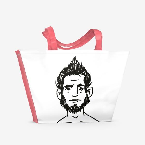 Пляжная сумка «стильный»