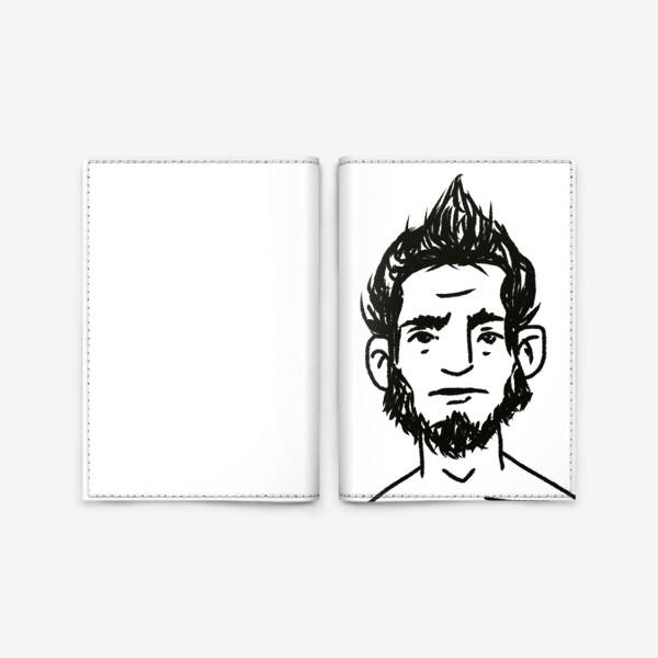 Обложка для паспорта «стильный»