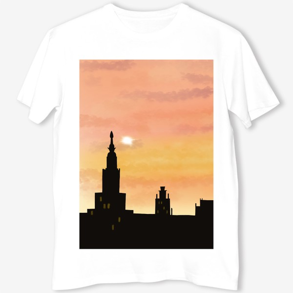 Футболка «Восход в городе»