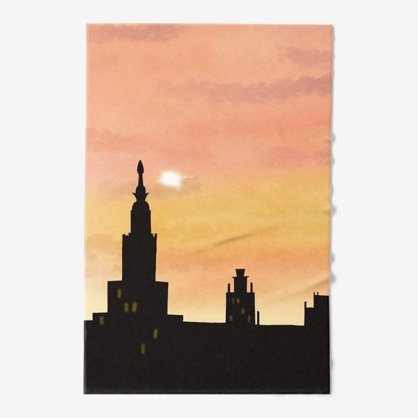 Полотенце «Восход в городе»
