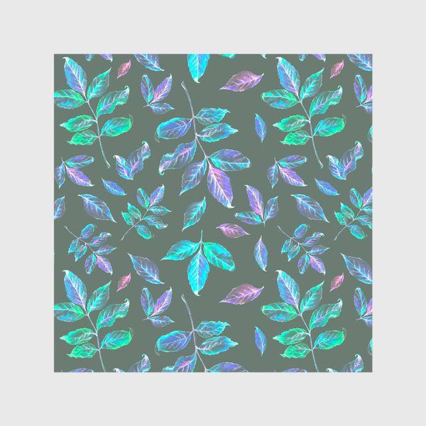 Шторы «Акварельные осенние листья 6»