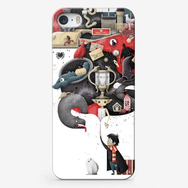 Чехол iPhone «Гарри Поттер»