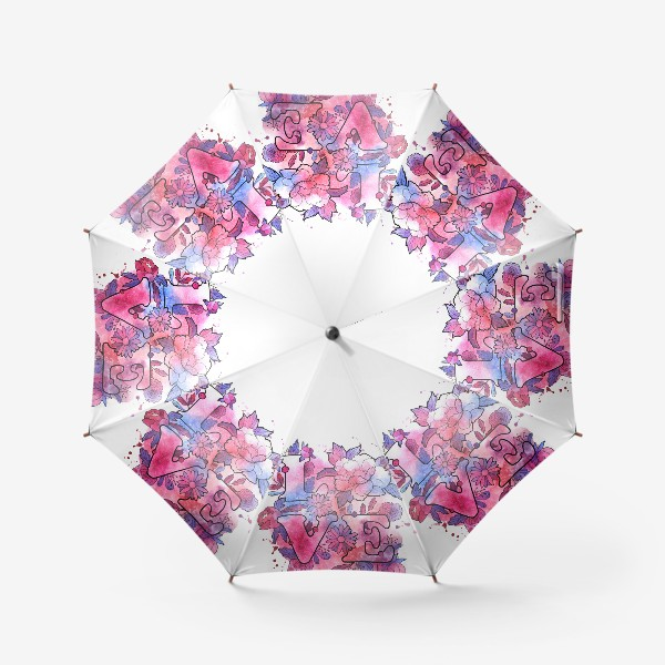 Зонт «Любовь. Love. День влюбленных»