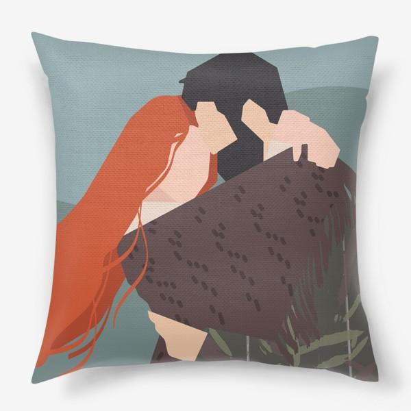 Подушка «влюбленные»