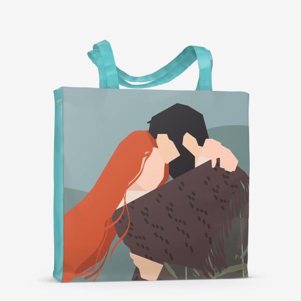 Сумка-шоппер «влюбленные»