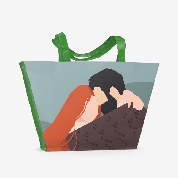 Пляжная сумка «влюбленные»