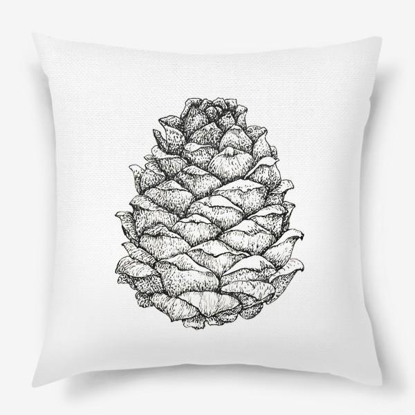 Подушка «Кедровая шишка»
