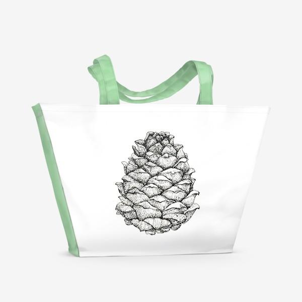 Пляжная сумка «Кедровая шишка»