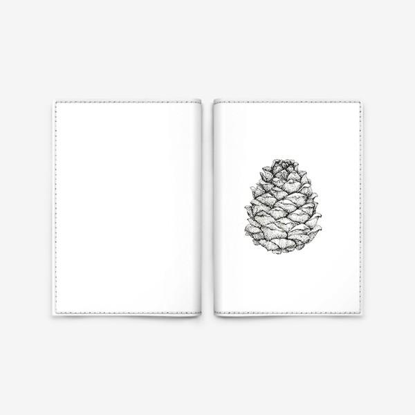 Обложка для паспорта «Кедровая шишка»