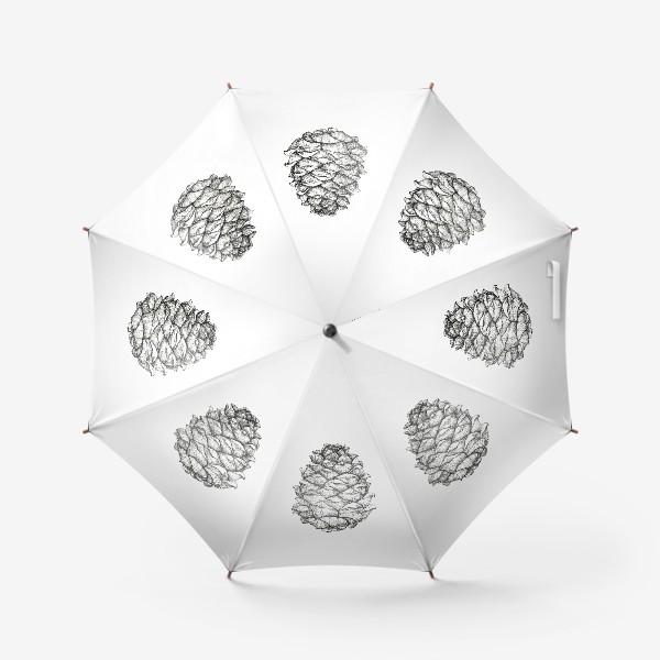 Зонт «Кедровая шишка»