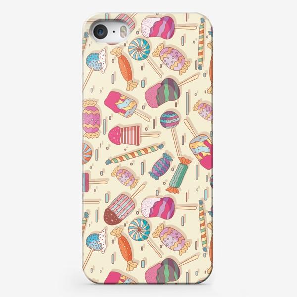 Чехол iPhone «Сладкий паттерн»