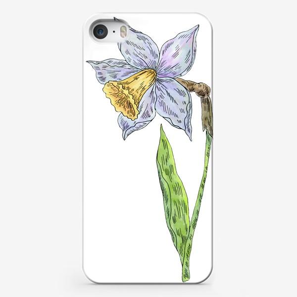 Чехол iPhone «Весенний нарцисс»