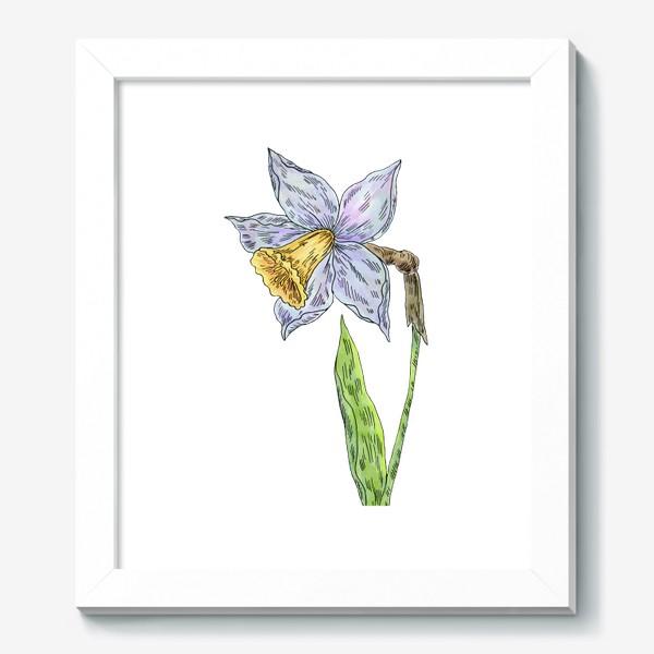 Картина «Весенний нарцисс»