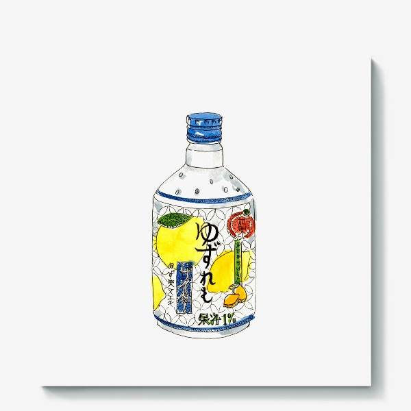 Холст «Японский напиток»