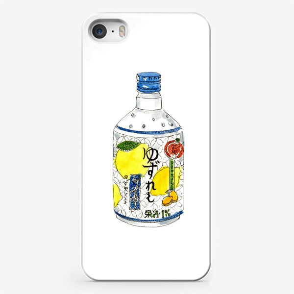 Чехол iPhone «Японский напиток»