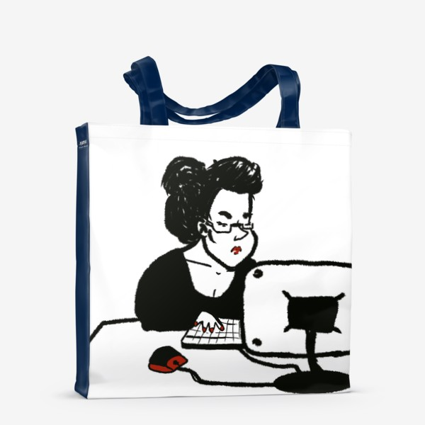 Сумка-шоппер «бизнеследи»